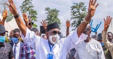 INEC Declares Governor Akeredolu Winner Of #OndoDecides2020