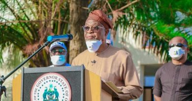 Political thugs attacked us, not protesters — Osun gov, Oyetola