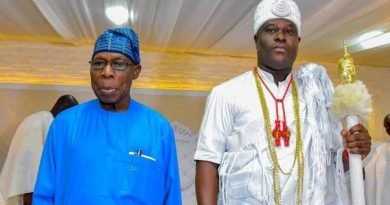 End SARS: Details of Ooni's meeting with Obasanjo emerge