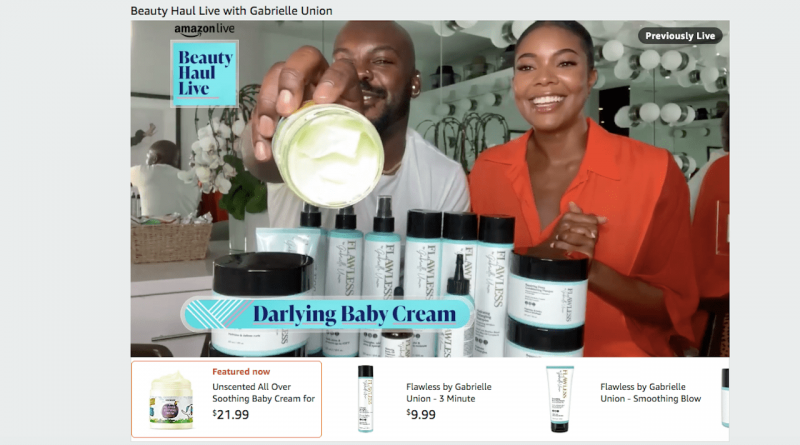Amazon Live attracts more beauty brands with its shoppable livestream format – Glossy