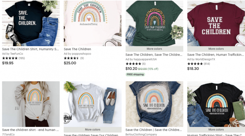 Following an Etsy ban, QAnon merch is still readily available on online marketplaces – Glossy