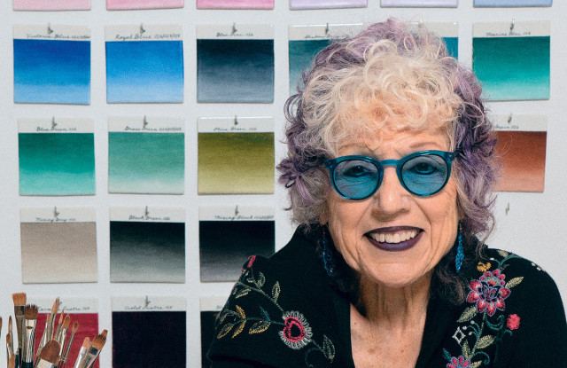 Artist Judy Chicago Reunites With Dior For Lady Dior Handbag Project – WWD