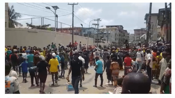 Multiple attacks on Lagos by military forces, declaration of war against Yorubaland - Akintoye YWC Leader
