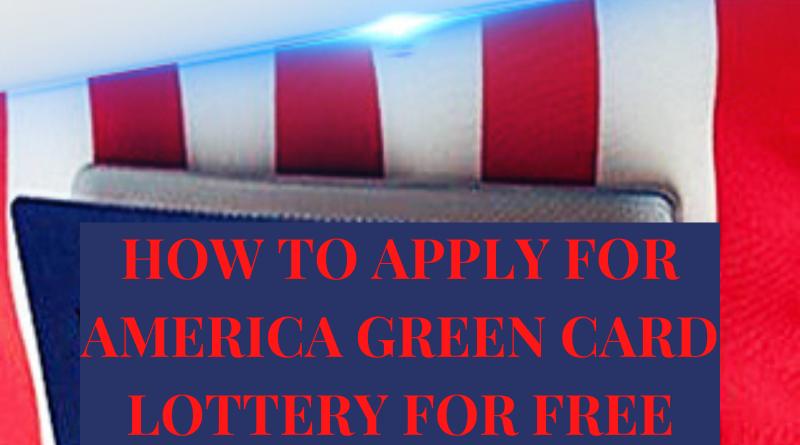 WINNING USA GREEN CARD LOTTERY MADE EASY